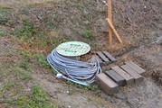 給水栓とホース・シャワーノズル付き