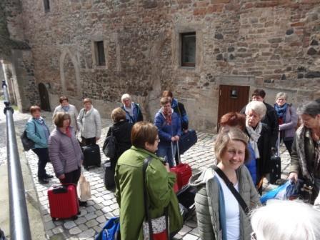 Ankunft auf der Burg