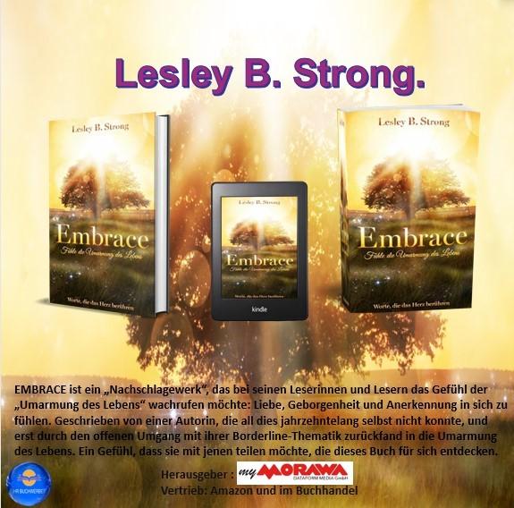 EMBRACE - Fühle die Umarmung des Lebens:  Worte, die das Herz berühren - Lesley B.Strong