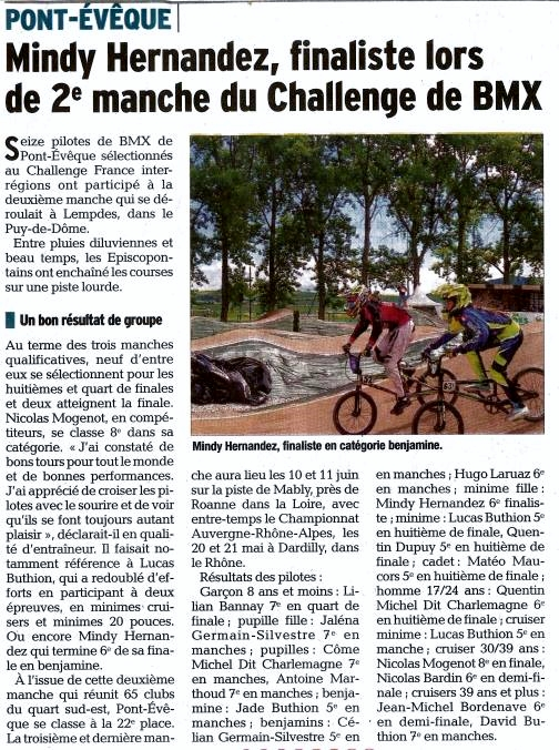 Challenge France Sud-Est 2ème manche à Lempdès- 13 et 14 mai 2017