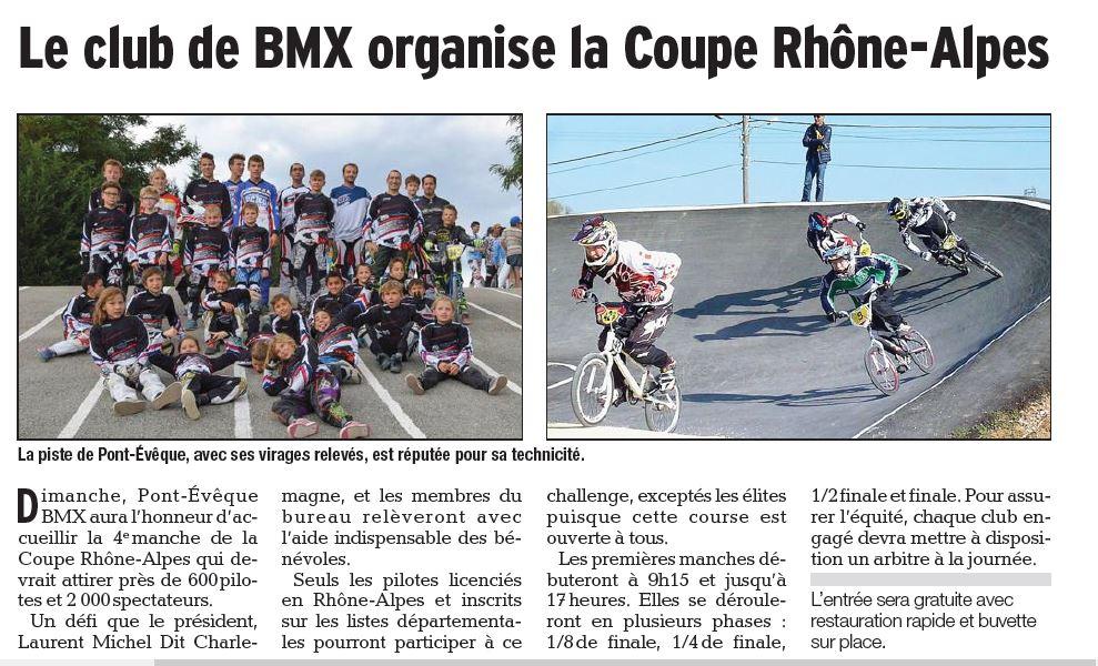 Préparation coupe Rhône Alpes à Pont-Evêque - Septembre 2015