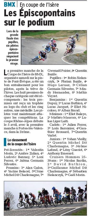 Coupe Isère à Pont-Evêque - 28 mars 2015