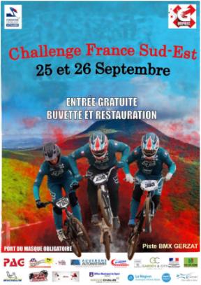 Rappel: Inscription 3ème Manche Challenge France Sud Est