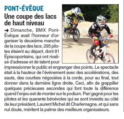 Coupe des Lacs 2017 - 2ème manche à Pont Evêque - 22 octobre 2017