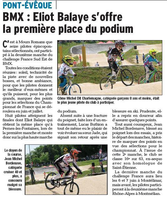 Challenge France Sud-Est 2ème manche à Mours Romans - mai 2015