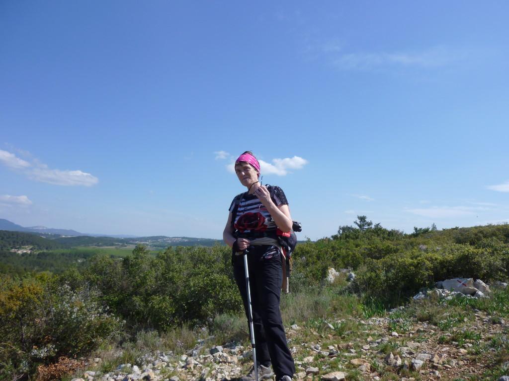 En allant vers Montarnaud