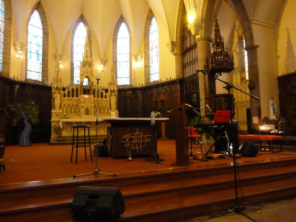 l'église de Questembert ( 56 )