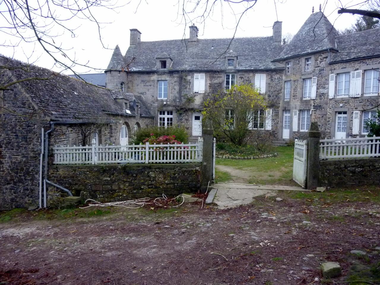 Manoir, chambre d'hôte à Siouville