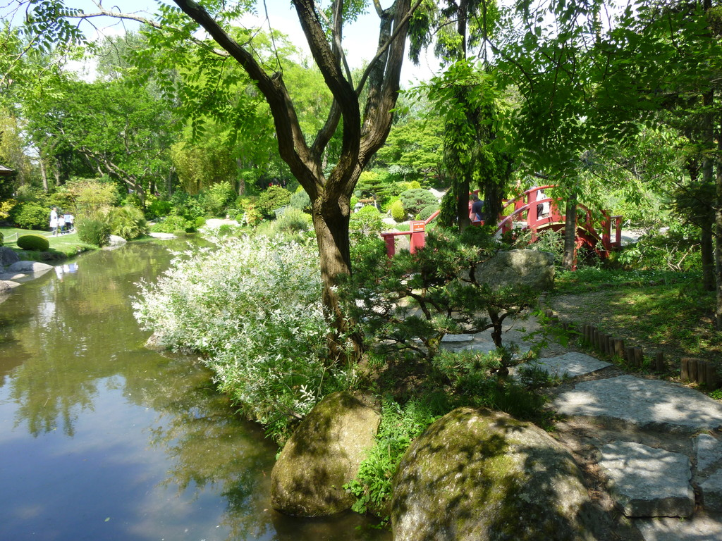 Toulouse, jardin japonais