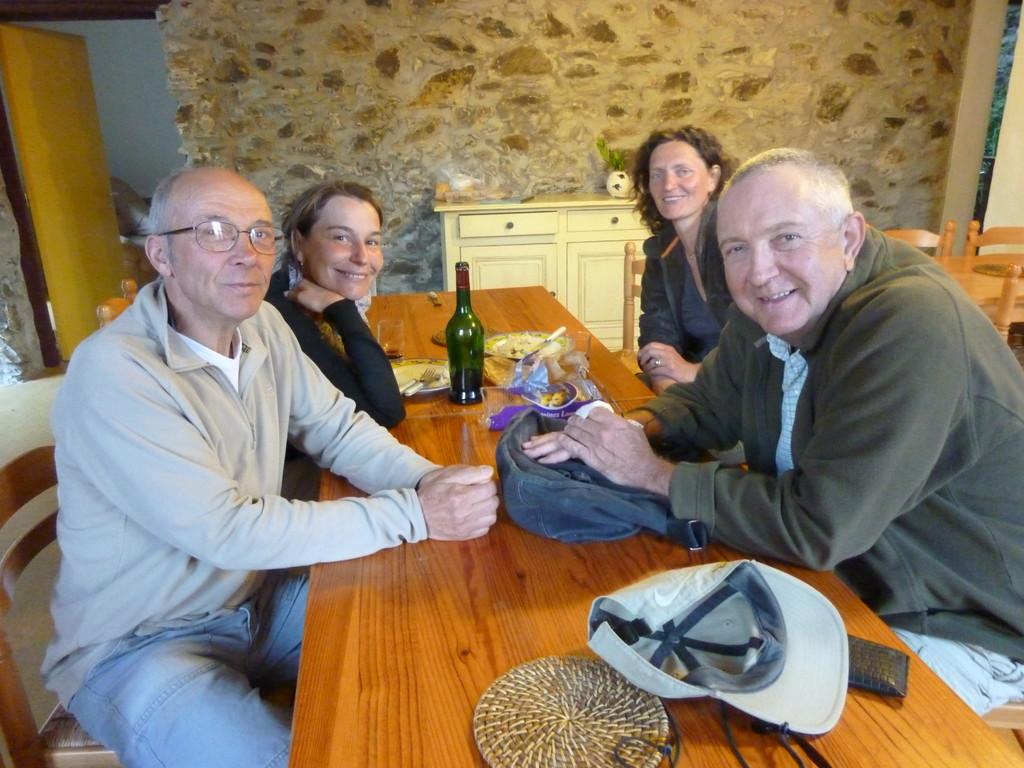 Boissezon (81), Peter notre ami anglais avec qui j'ai pu bien réviser mon anglais