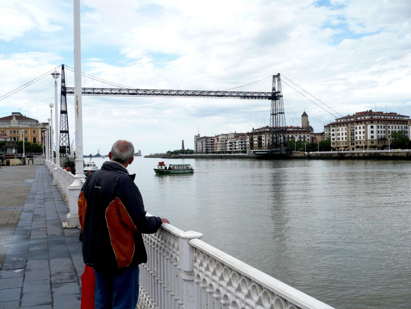 Portugalette, pont transbordeur