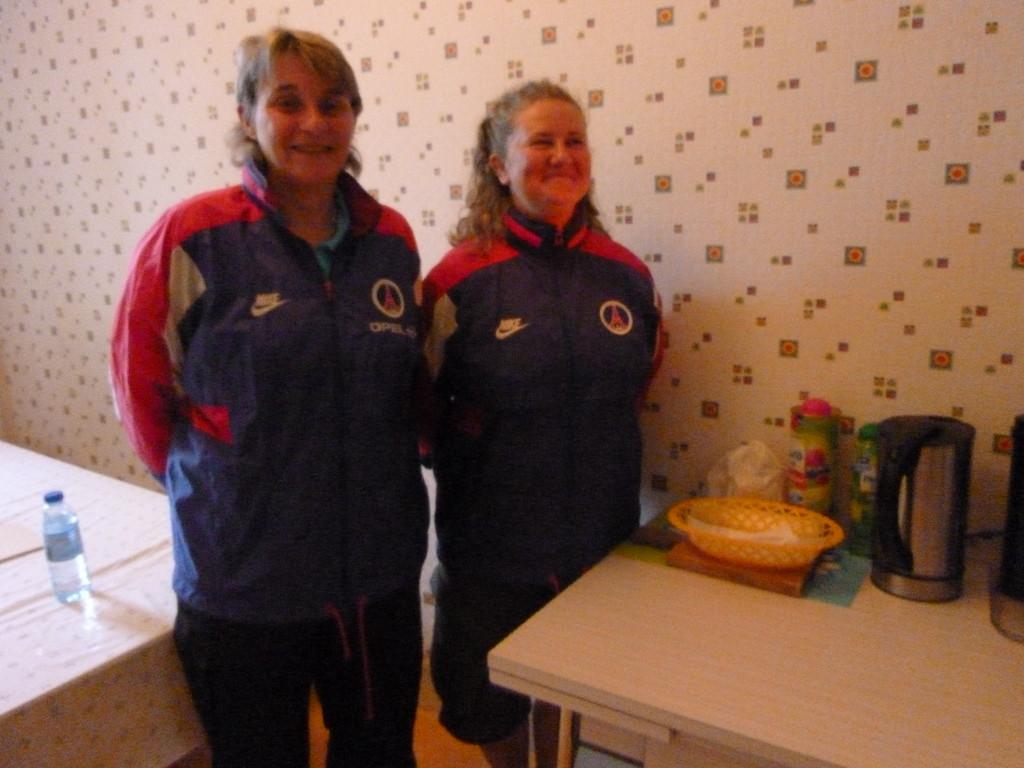 Gite de Baziège ( 31)Valérie et Fabienne, elles ont fait partie de l'équipe de France féminine du PSG