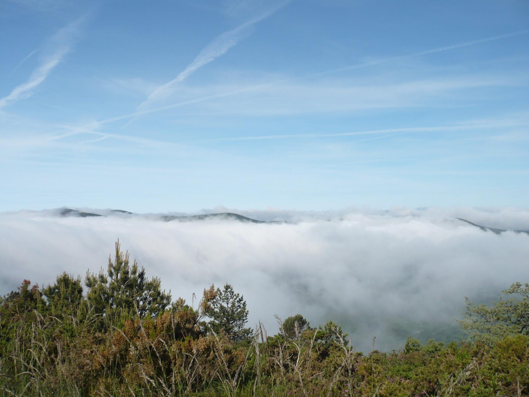 Nous sommes au dessus des nuages, magique