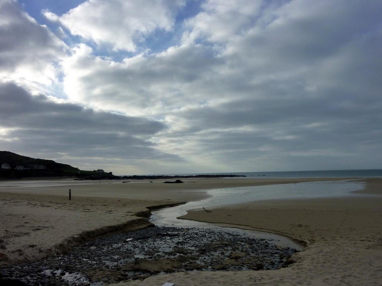 La plage de Siouville
