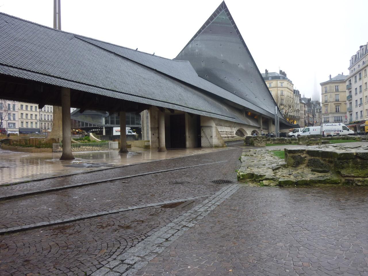 Rouen, l'église Jeanne d'Arc