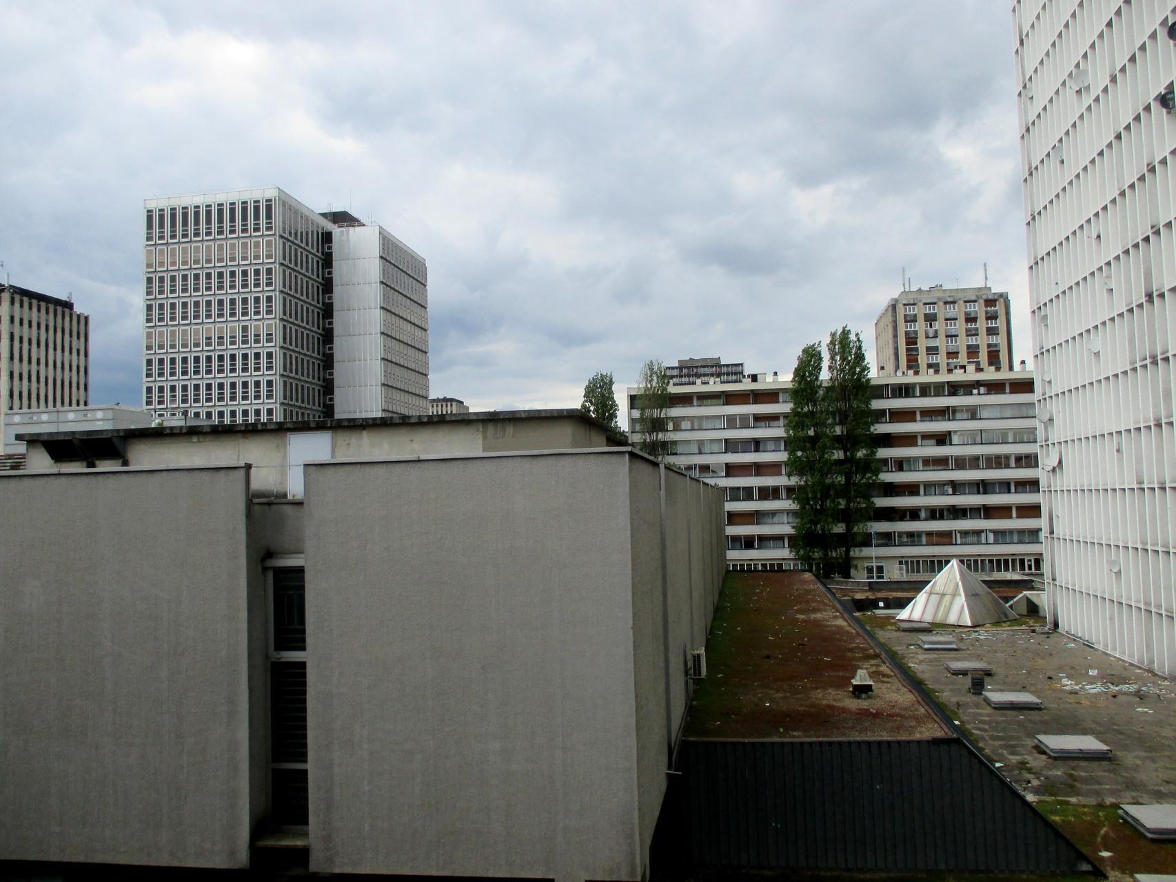 Vue de notre fenêtre, à Sarcelles