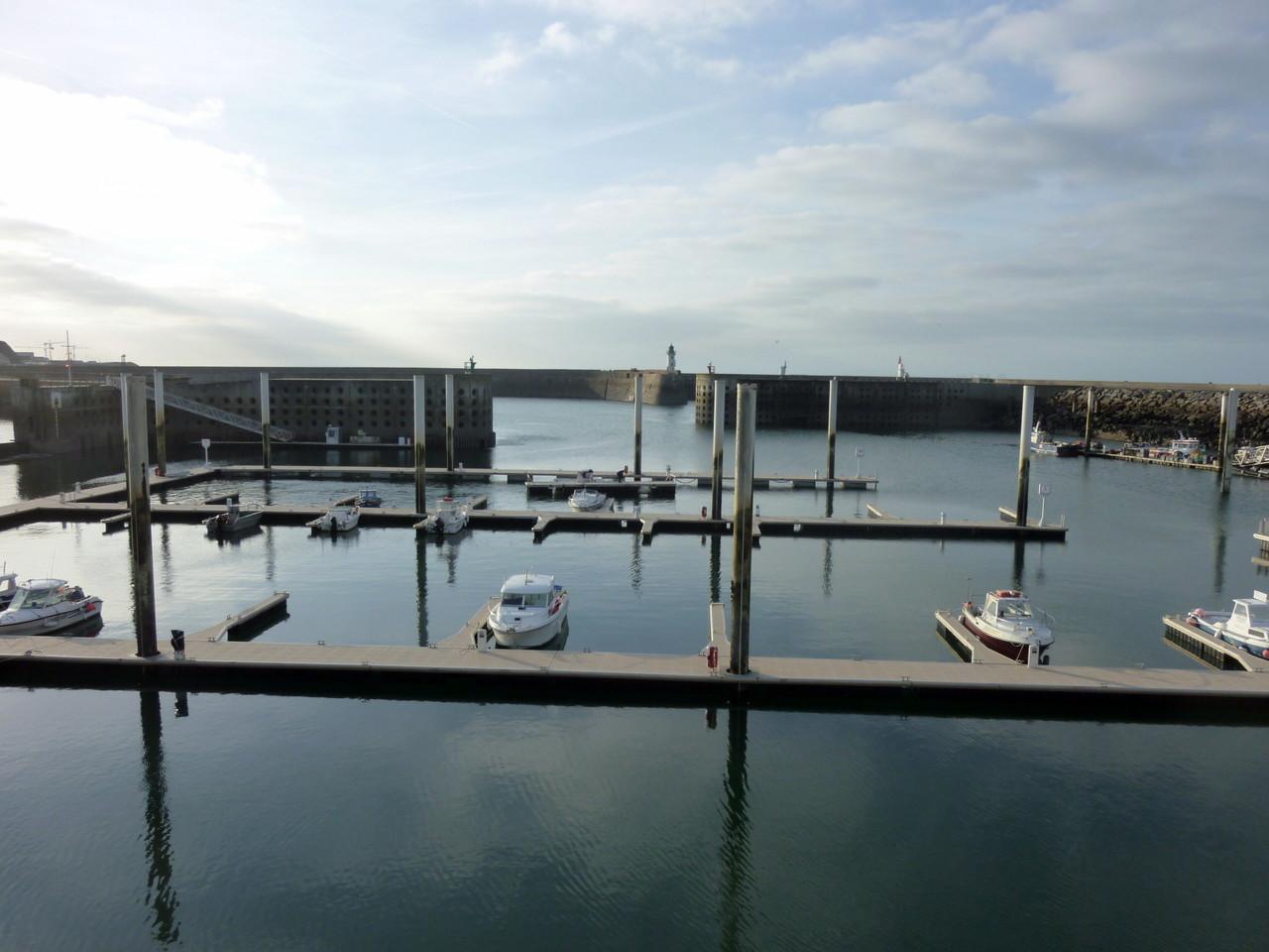 Le petit port de Dielette