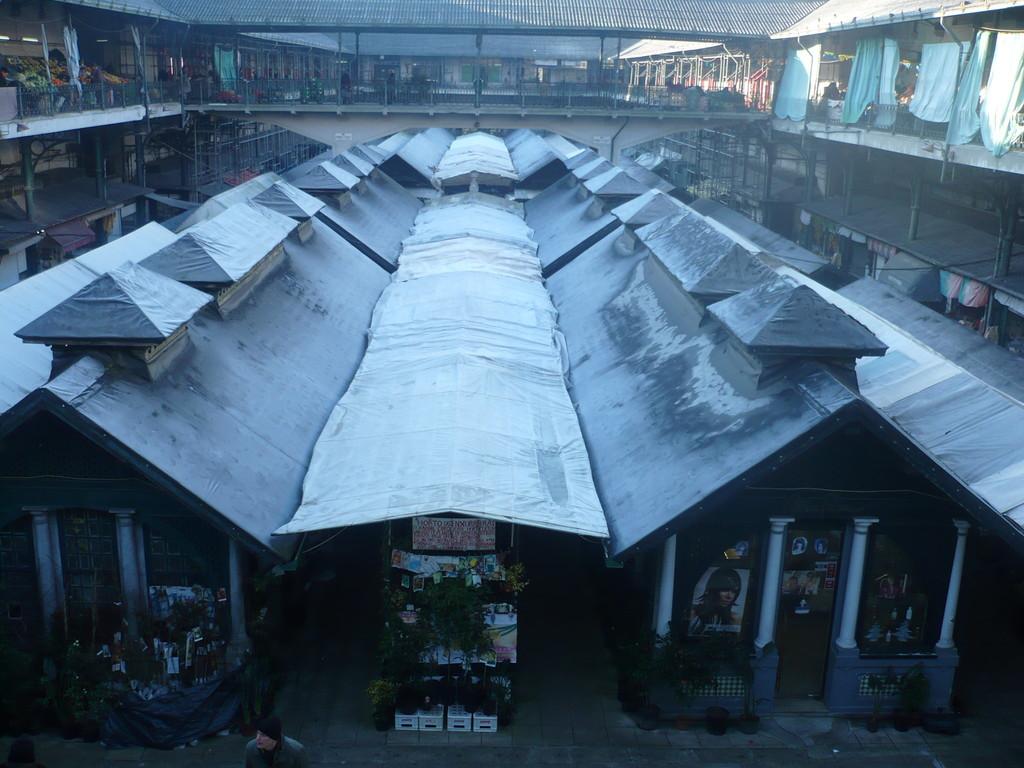 les halles, le marché du samedi matin