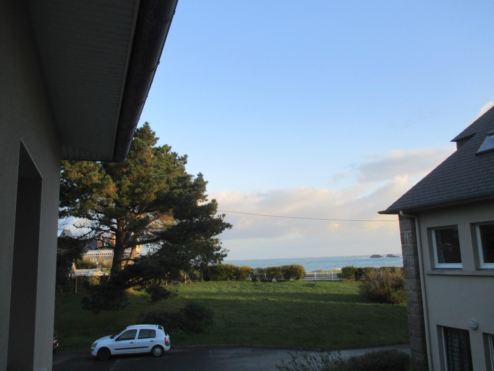 Vue de notre fenêtre