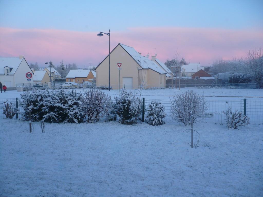La Bretagne sous la neige