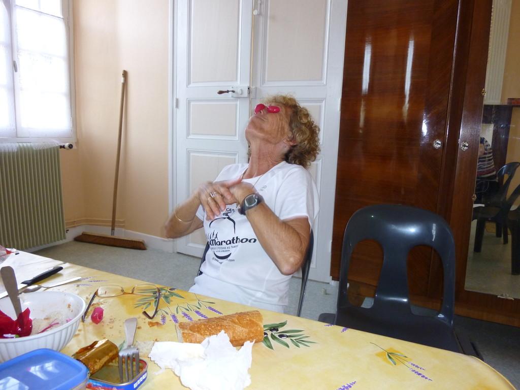 Anoye (64), oui, les pélerins savent s'amuser...