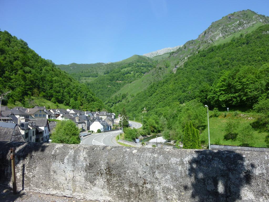 La vallée d'Aspe et son gave