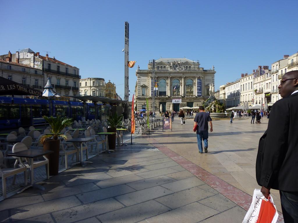 Journée visite de Montpellier
