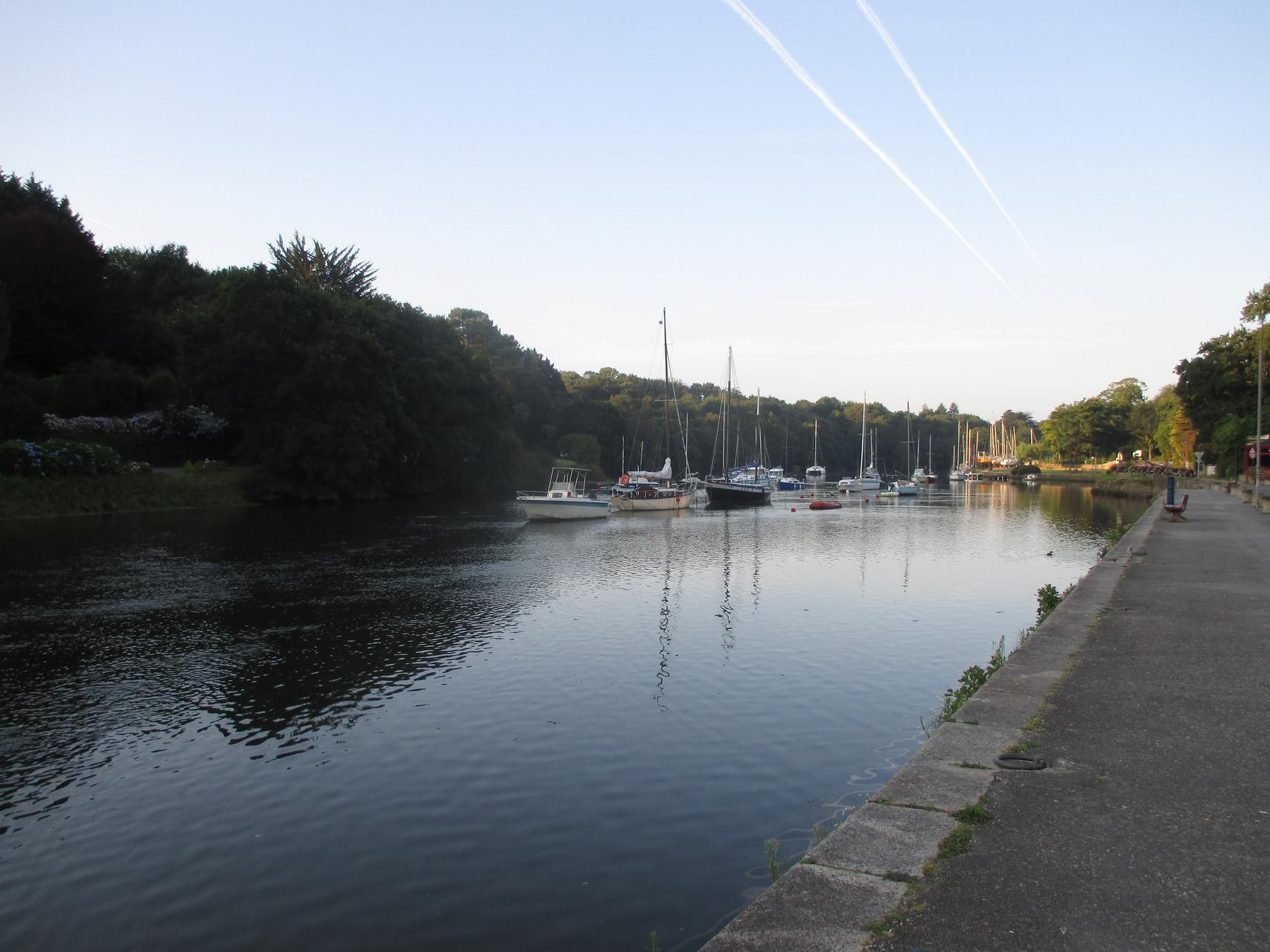 Pont Aven au petit matin