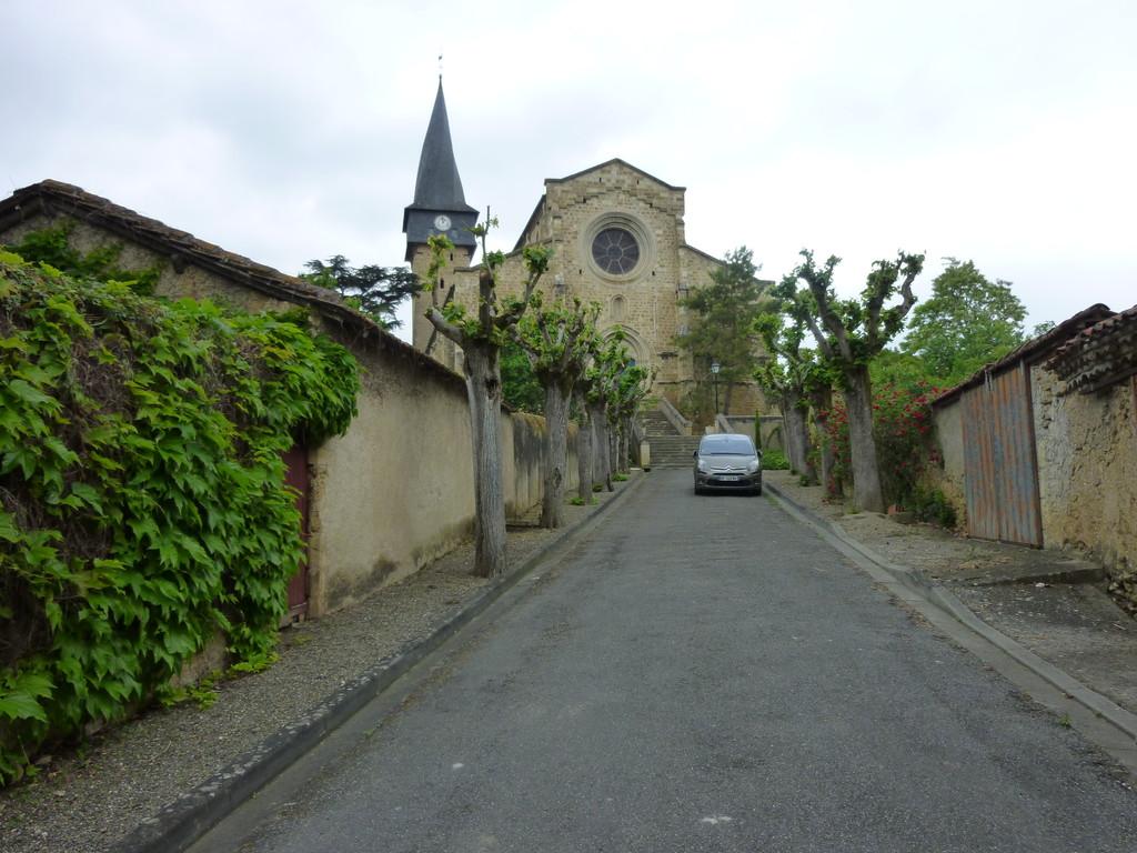 Barran et son clocher