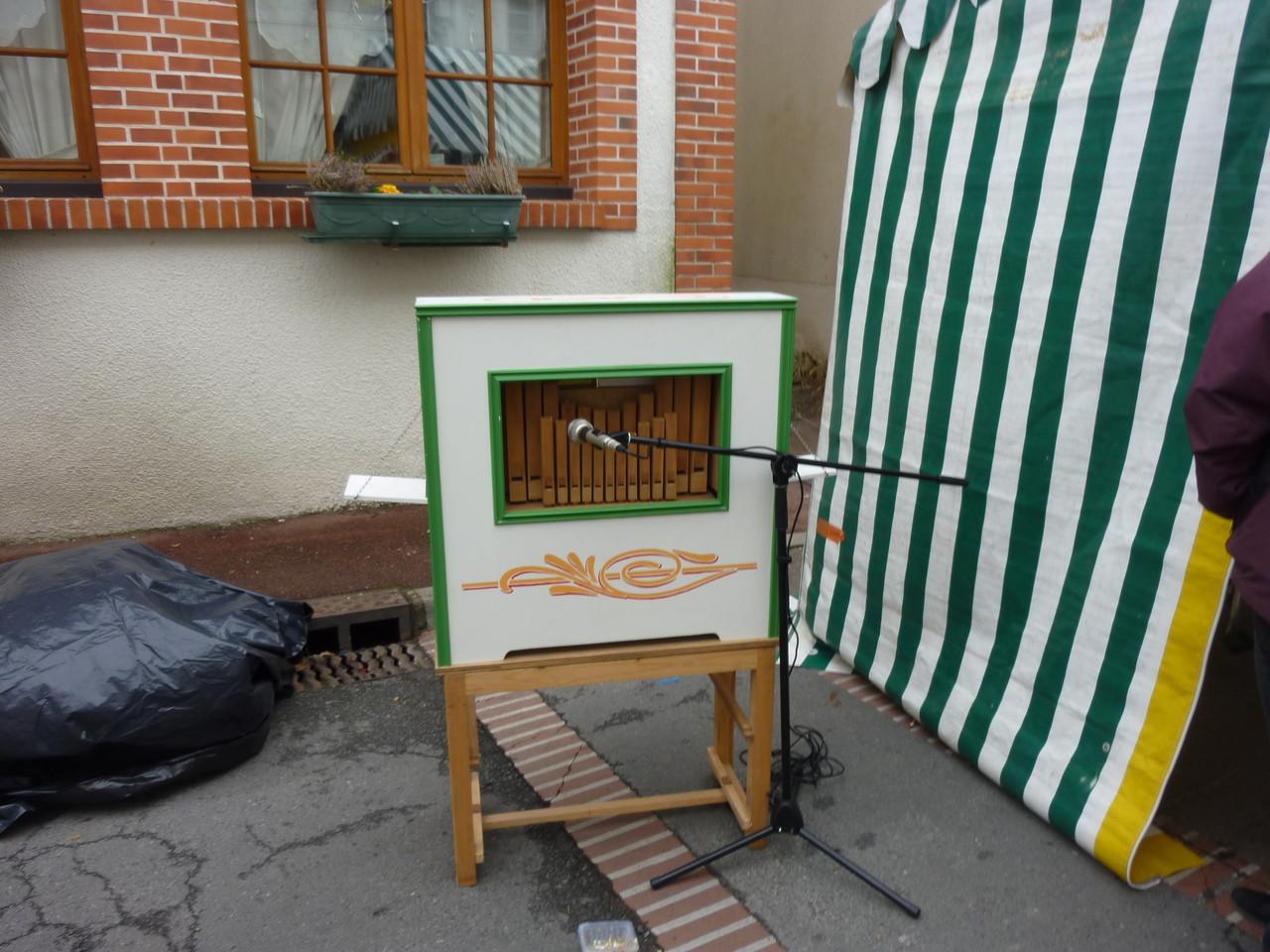 Un orgue de Barbarie conçu et réalisé entièrement par son heureux propriétaire