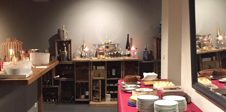 Buffet im Restaurant Bootshaus