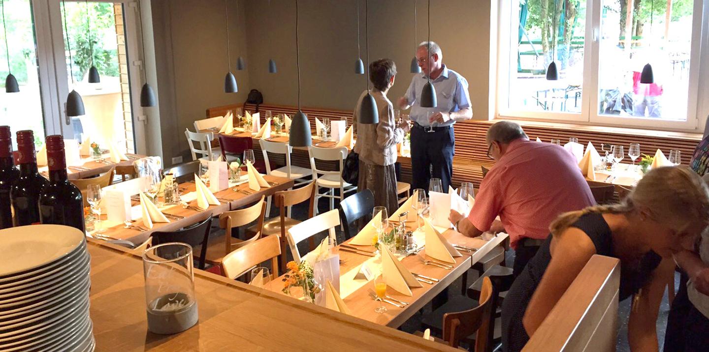 Gäste im Restaurant