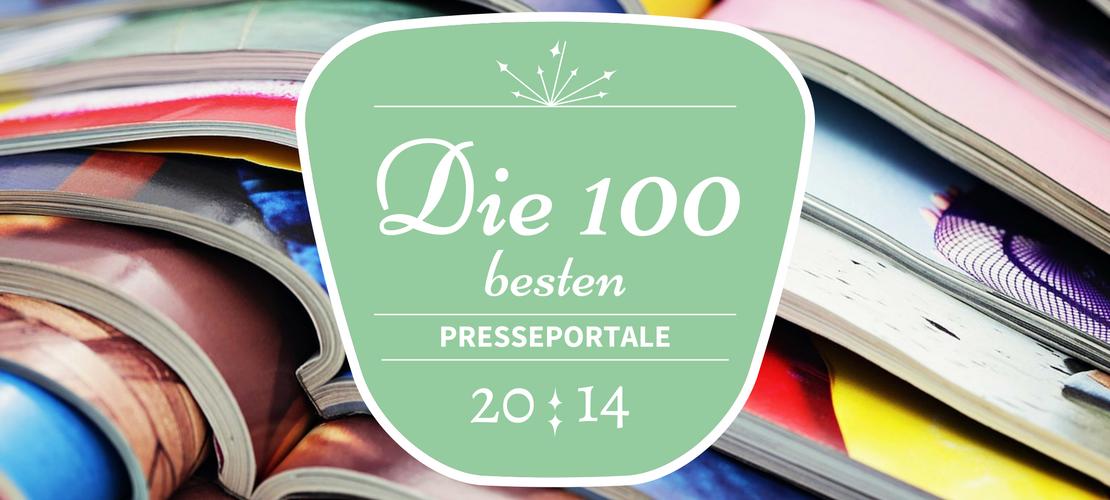 Die 100 besten Presseportale