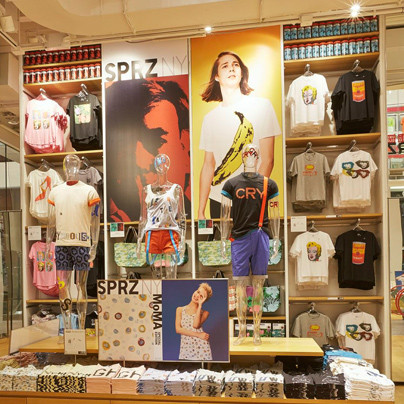 "UNIQLO Konzept-Store ""SPRZ NY"" mit MoMa Special Edition"