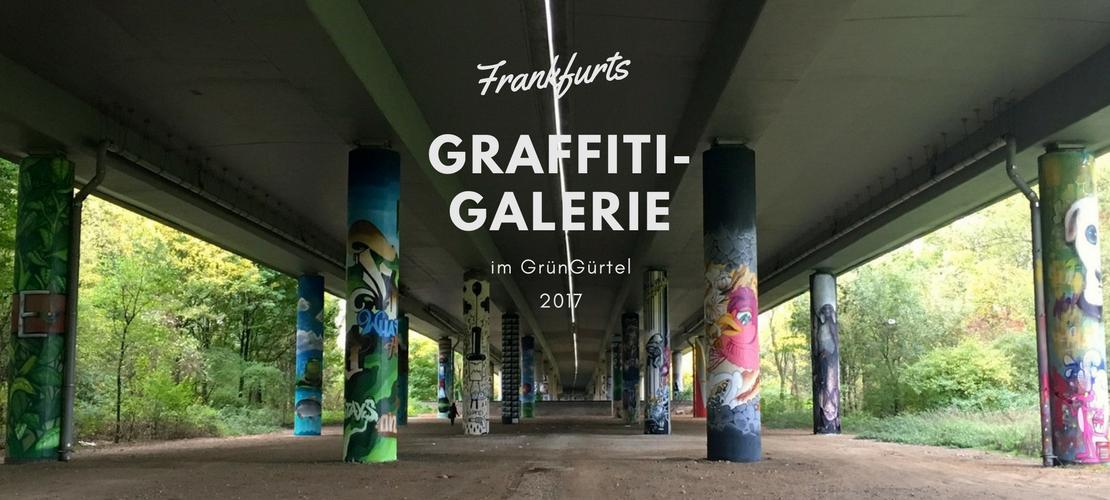Graffiti-Galerie im GrünGürtel Frankfurt - artikoo