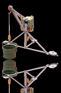 Polipastos Eléctricos para acarreo de material en obra
