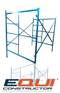 Medida del andamio tubular 2.00m x 1.56m