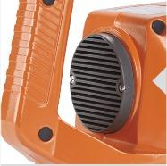 La lubricación con aceite, el filtro de espuma de polvo y la protección contra sobrecarga aumentan la vida útil y reducen los costes durante el ciclo de vida del sistema.