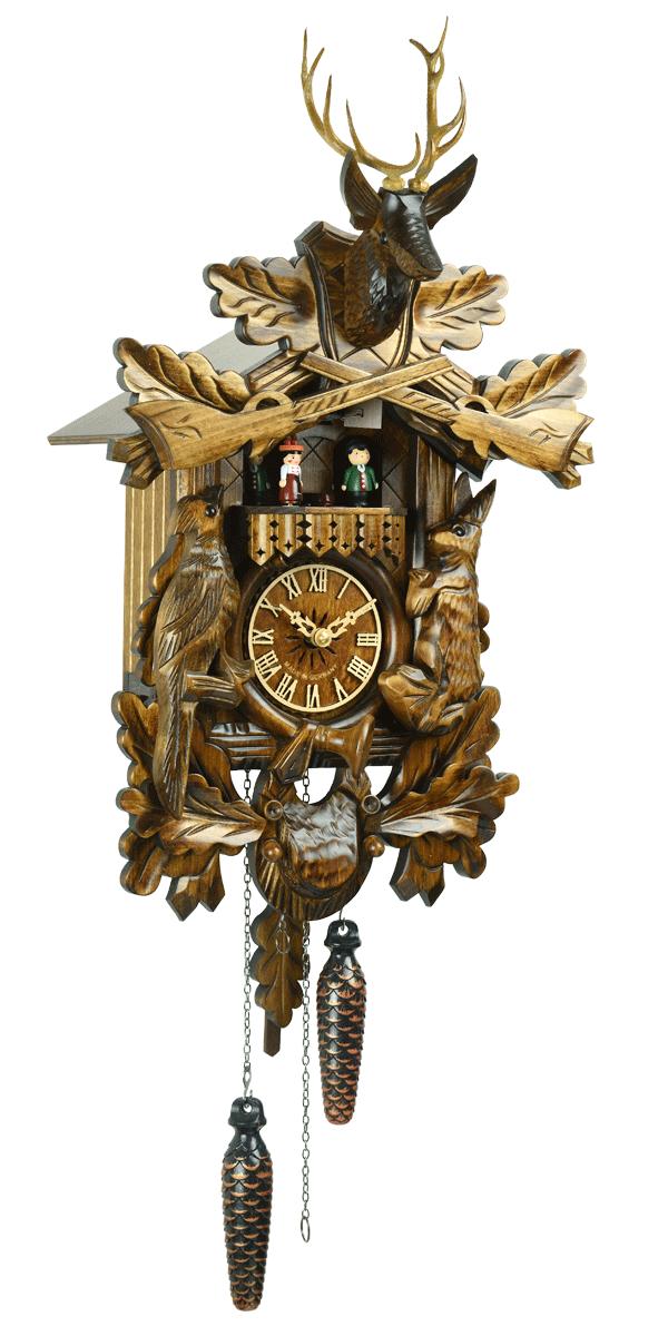森の時計 739QMT ハト時計