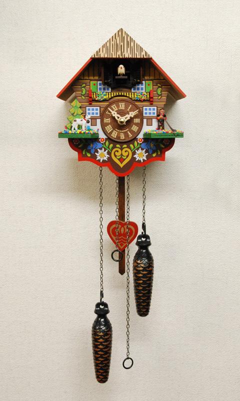 森の時計 415QM ハト時計