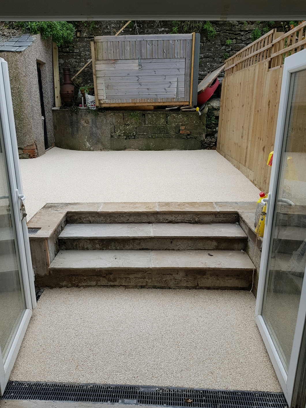 Resin Bound patio area - Cowbridge