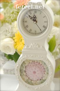 ソープカービング花時計ギフトプレゼント