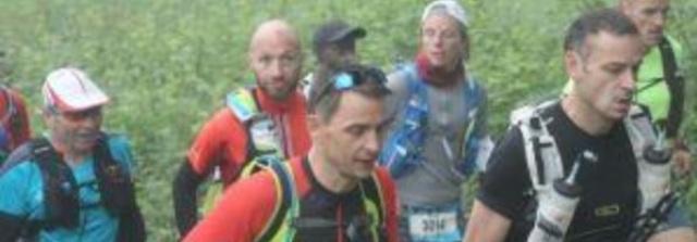 Les 2 Toqués sur le 58 km : Fabrice et Thierry.