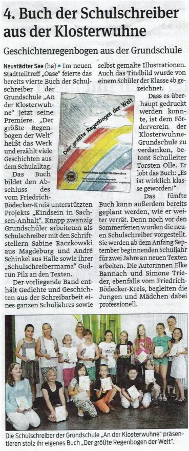 Magdeburger Volksstimme 2014