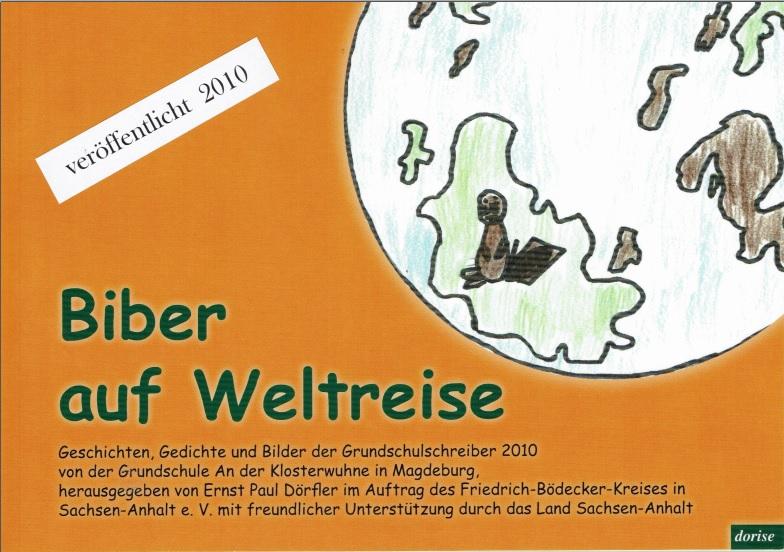 """2010: """"Biber auf Weltreise"""" Herausgegeben von P. Dörfler"""