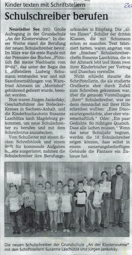 Magdeburger Volksstimme 2008