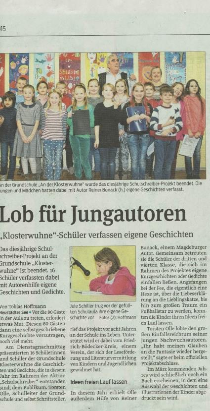 Magdeburger Volksstimme 2015