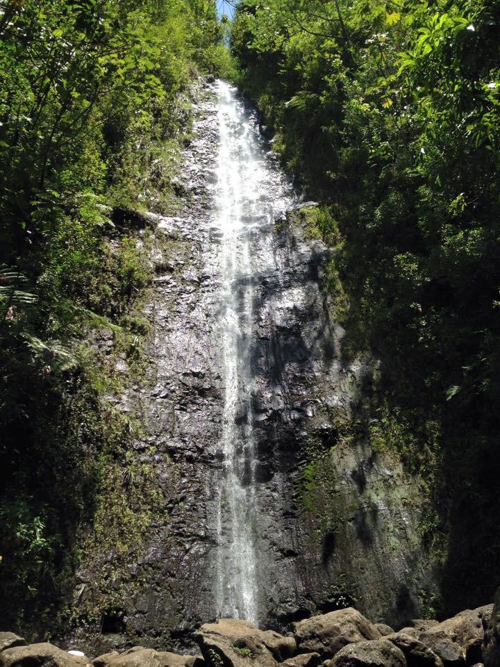 オアフ島 マノアの滝