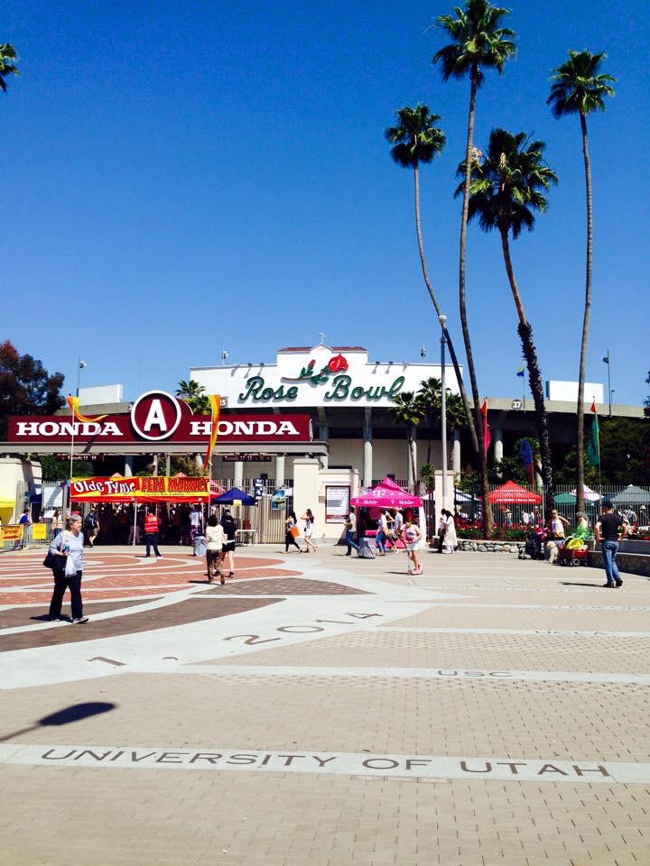 ロサンゼルス ローズボール ヴィンテージの宝庫です