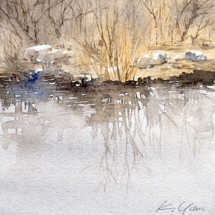 quiet waterside